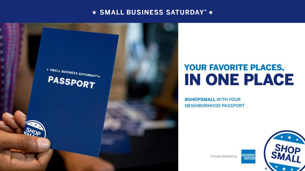 Small Business Saturday header image